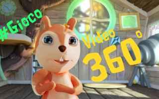 Video divertenti: cartoni animati  video 360