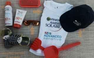Bellezza: creme solari  estate  bambini