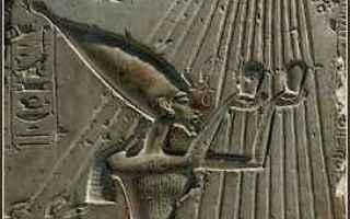 Storia: cantico di aton  egizi  mitologia