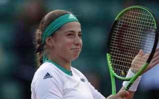 Tennis: ostapenko  tennis