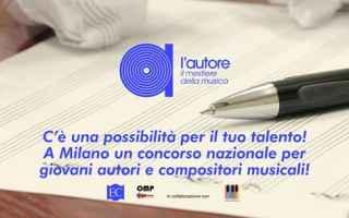 Musica: concorso  autori  musica  contratto