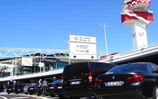 ncc  limousine service  roma  fiumicino