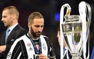 Calcio: higuain  champions league  juventus