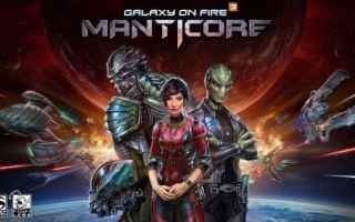 Mobile games: videogame  galaxy on fire 3  android