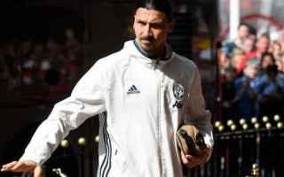 Calciomercato: manchester united ufficiale ibrahimovic