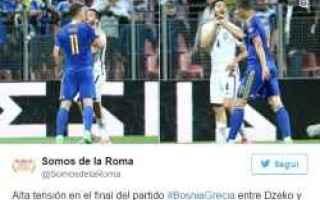 Nazionale: dzeko  manolas  calcio  nazionale  sport
