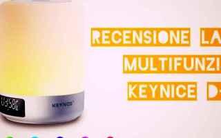 Gadget: keynice d-58  speaker  lampada  tech