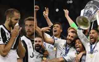 Champions League: calcio juventus