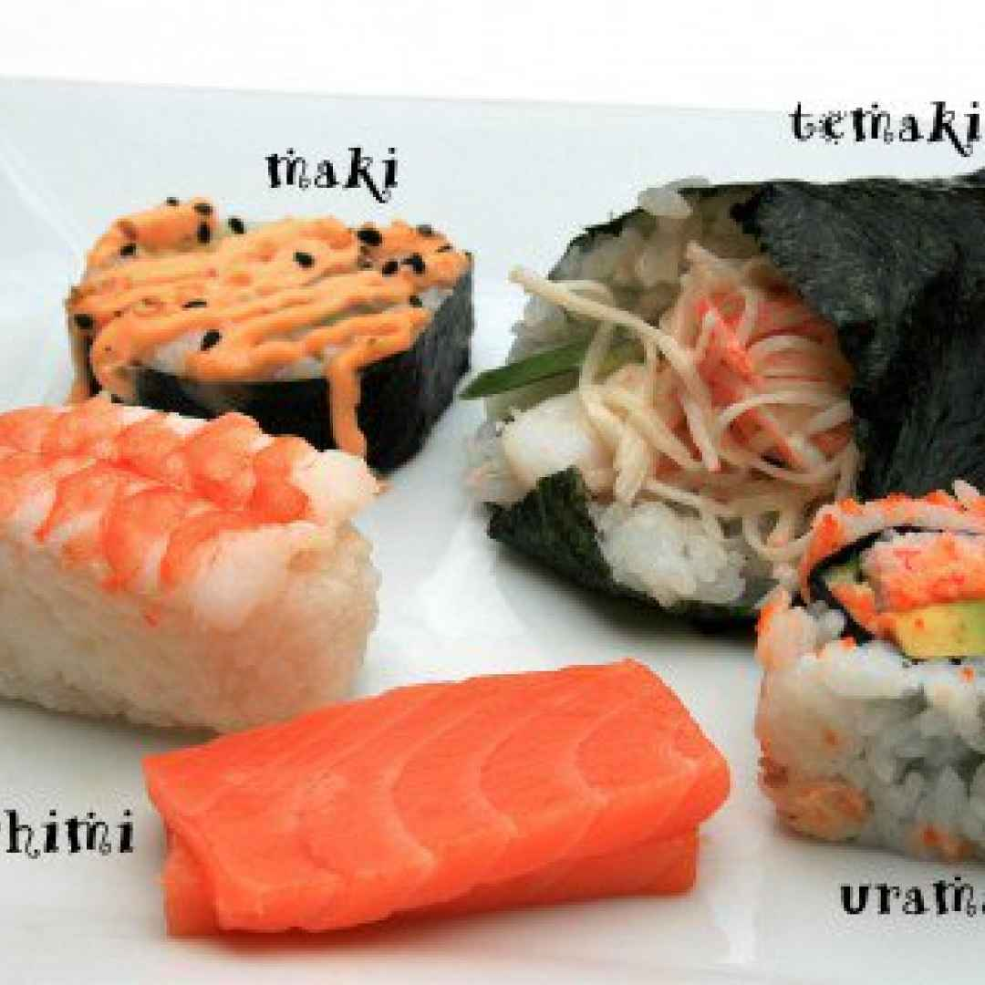 sushi  amazon  sashimi