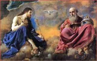 Religione: figlio  padre  spirito santo  trinità