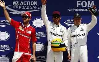 Formula 1: f1  hamilton  vettel  canada  pole
