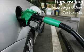 Automobili: hypermiling  risparmio  carburante  auto