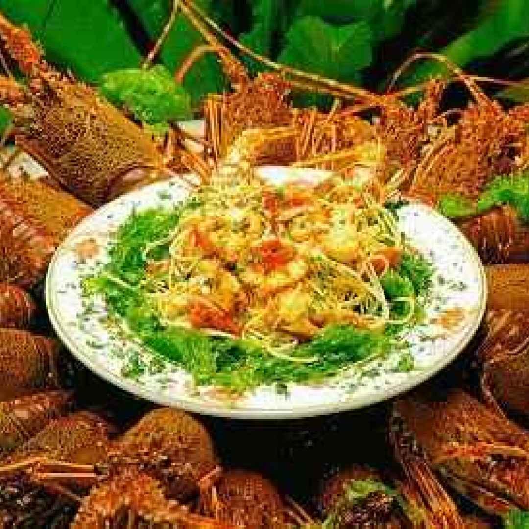 Cucina siciliana - Pasta con aragosta