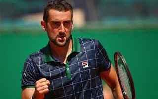 Tennis: tennis grand slam cilic quarti
