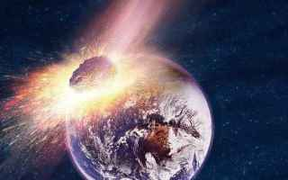 meteorite  spazio  terra  dinosauri