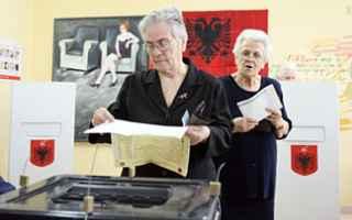 dal Mondo: albania  elezioni