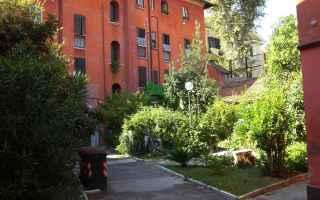 Casa e immobili: cortile spazi comuni proprietà