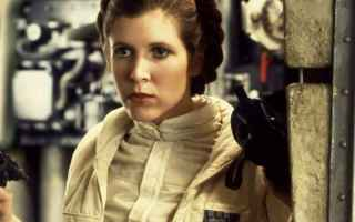 Cinema: carrie fischer  star wars  leia