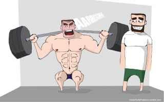 Fitness: MALATI DI PALESTRA, SIETE VIGORESSICI! SCOPRITE PERCHE