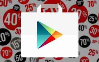 Android: android sconti google giochi applicazion