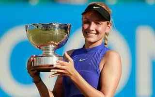 Tennis: tennis grand slam vekic nottingham