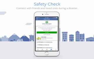 Facebook: facebook  social  safetyckeck
