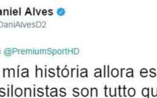 Calcio: dani alves  calcio  juventus  serie a