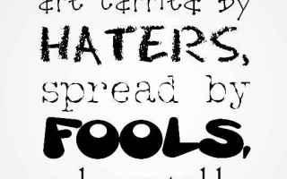 cattiveria nei social network  odio