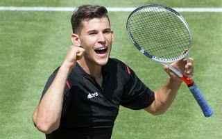 Tennis: tennis grand slam thiem halle