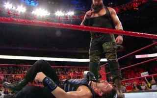 Sport: wwe  wrestling  raw  risultati  report