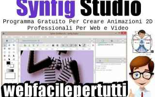Design 2D 3D: synfig studio