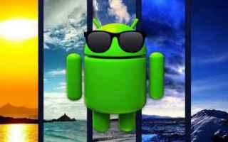 Scienze: android meteo pioggia sole temperatura