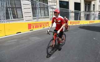 Formula 1: f1  ferrari  azerbaijan
