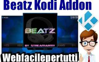 Software Video: beatz  kodi  addon