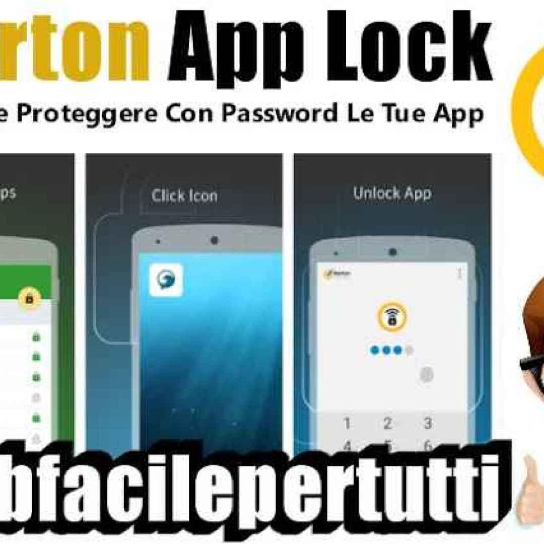 norton app lock android app
