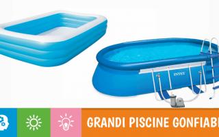Giochi: 5 grandi piscine gonfiabili per tutta la famiglia (e addirittura una spa!)