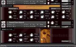 Audio: bowed piano  home recording  vsti