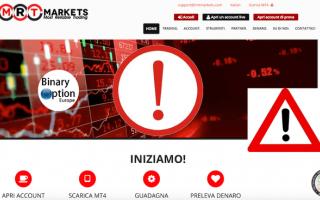 Borsa e Finanza: mrtmarkets  truffa  scam  broker  forex