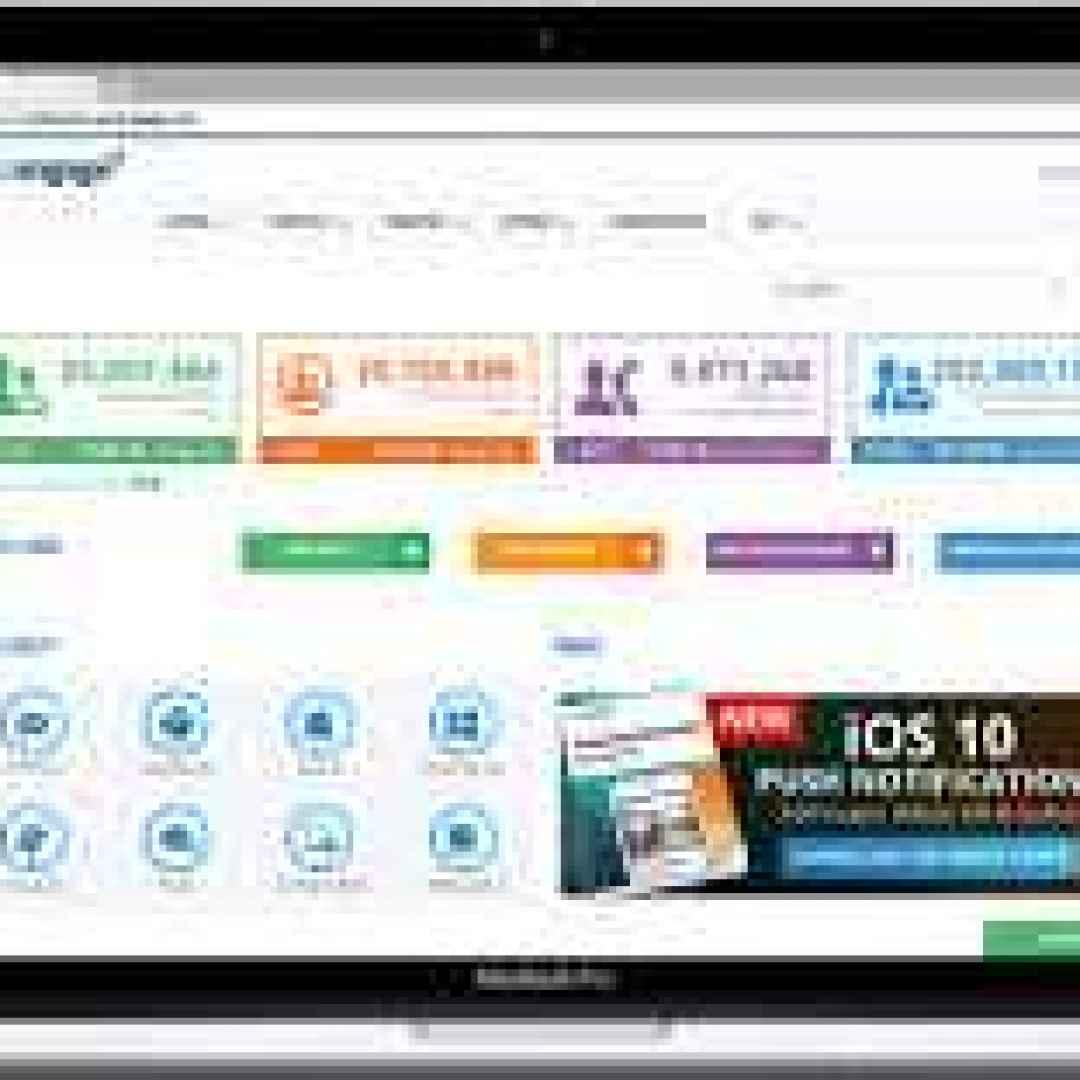 web  notifiche push  marketing  digital