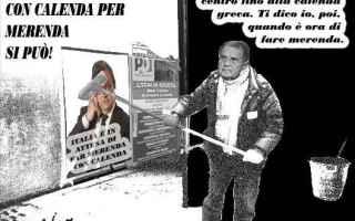 Satira: calenda  centrosinistra  prodi