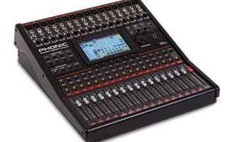 phonic summit  console digitale  mixer