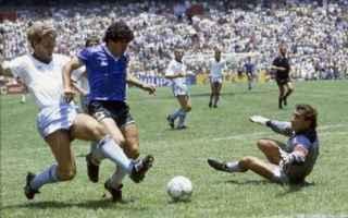 Calcio: maradona  mondiale  argentina  england