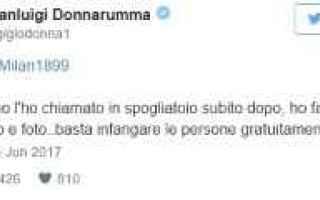 Serie A: donnarumma twitter calcio milan