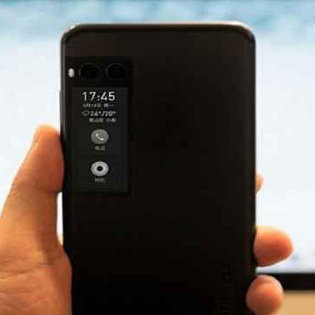 meizu pro7  smartphone  e-ink