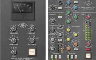 Audio: compressori vst  uad 4k buss compressor