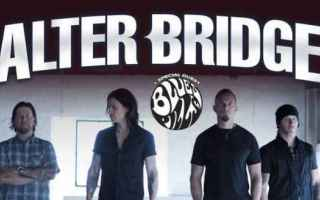 Musica: alter bridge  concerto  milano  rock
