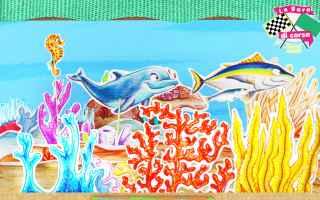 Video divertenti: il teatrino dei piccoli e la gara di corsa dei pesci! - cartoni animati per bambini