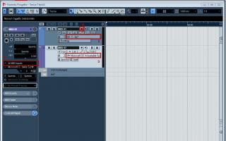 virtual instrument  modulo sonoro