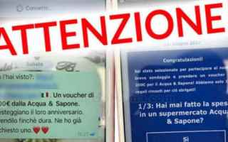 Sicurezza: whatsapp  coupon  truffa