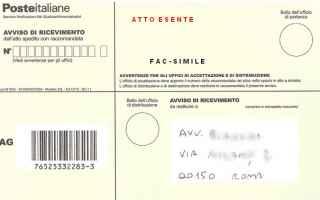 Fisco e Tasse: cartella notifica concessionario prova